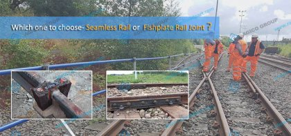 Fishplate joint and rail joint welding in Indian Railway