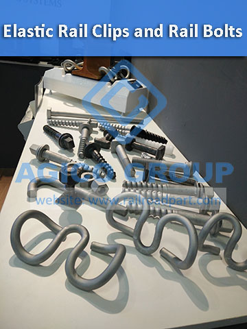 Elastic Rail Clips and Various Rail Bolts for Sale