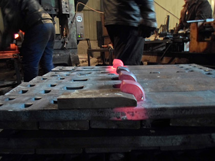Hook Twin Tie Plate Fabrication