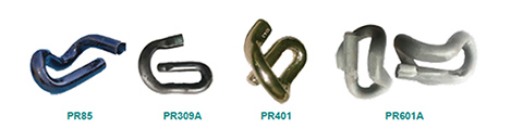 PR Series Rail Clip Types