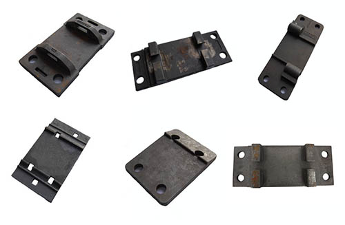 Rail Tie Plate Types