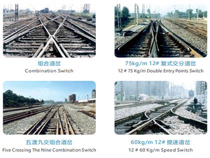Rail Turnout Switch Types