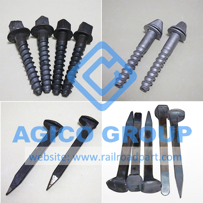 Railway Screw Spike and Dog Spike Types