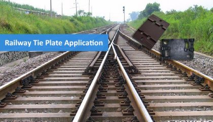 Buy railway tie plates from agico rail