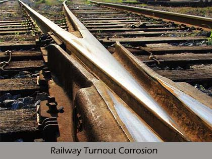Rail Turnout Rust