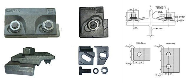 Choose Rail Clamp Types for Crane Track and Rail Track Fastening